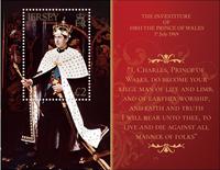 Jersey - Prince Charles de Galles - Bloc-feuillet neuf