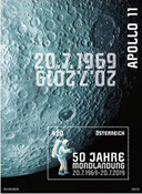 Austria - Moon landing, 50th anniversary - Mint souvenir sheet