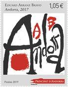 Andorre Francais - Arranz Bravo - Timbre neuf
