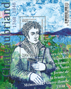 Saint Pierre and Miquelon - Chateaubriand s/s * - Mint stamp