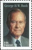 Etats-Unis - George H. W. Bush - Timbre neuf