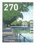 Austria - Promenade Bregenz - Mint stamp from coil