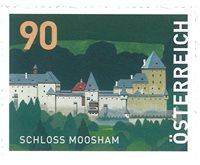 Østrig - Moosham slot - Postfrisk rullemærke