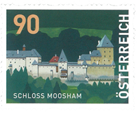 Autriche - Château Moosham - Timbre neuf de rouleau