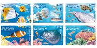Hong Kong - Expériences sous l'eau - Série neuve 6v