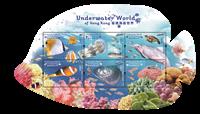 Hong Kong - Undervandsoplevelser - Postfrisk miniark