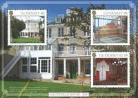 Guernesey - Hauteville House, Sepac - Bloc-feuillet neuf