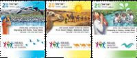 Israël - Tourisme - Série neuve 3v
