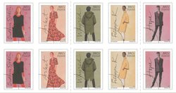 Suède - Mode - Bande de 10 timbres neufs