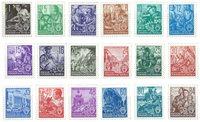 République Démocratique Allemande 1953 - Michel 362-379 - Neuf