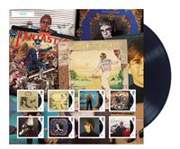 England - Elton John LP-samling - Postfrisk ark. Oplag 7500