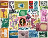Europamærker - Dubletlot