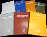 RDA - Livres annuels 1984-90