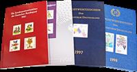 Allemagne de l'Ouest - 4 livres annuels