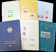 Allemagne de l'Ouest - 6 livres annuels