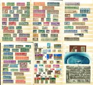 Israël - Collection de doublons en classeur