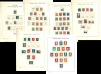 Norway - Collection in Schaubek album