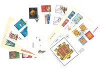 Divers pays - 10 enveloppes premier jour