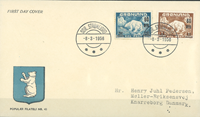 Groenland - EPJ ours polaire timbres provisoires