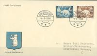 Grønland - FDC isbjørn provisorier