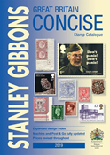 Stanley Gibbons Concise England katalog 2019