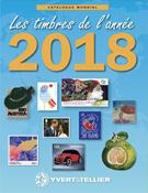 Yvert & Tellier - postzegels 2018 Hele wereld
