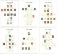 Norvège - Collection dans un album Leuchtturm préimprimé
