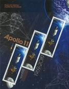 Kanada - Apollo 11 /Kuuhun laskeutuminen - Postituore pienoisarkki