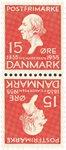 Danmark - AFA9 - Tetebeche - ubrugt