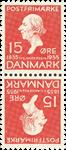 Danmark - AFA nr.9 - Tetebeche - ubrugt