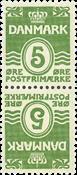Danmark - AFA nr.1 - Tetebeche - ubrugt