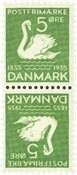 Danmark - AFA5 - Tetebeche - Ubrugt