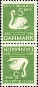 Danmark - AFA nr.5 - Tetebeche - ubrugt