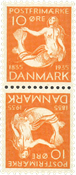 Danmark - AFA nr.7 - Tetebeche - ubrugt