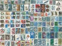 Norvège - 1200 timbres obl. diff. - Haute qualité