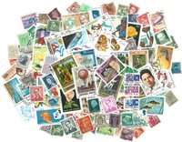 Worldwide - 100 different stamps