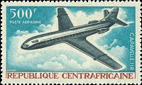 République Centrafricaine Poste aérienne