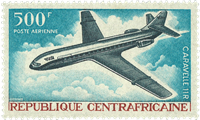 Centralafrika luftpost