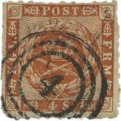 Danemark Danemark 4 skillings 1863