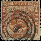 Danmark 4 skilling 1863