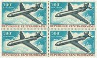 Centralafrika - luftpost - 4-blok