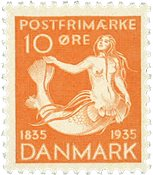 Danmark  stålstik AFA 225