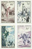 Frankrig 1956 - YT 1072-75 - Ubrugt
