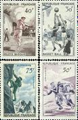 France 1956 - YT 1072-75 - Neuf avec charnière