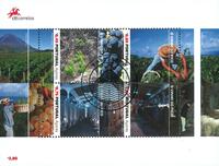 Azores - Wine production - Cancelled souvenir sheet