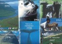 Færøerne kompl.1975-1998 *