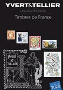 Yvert & Tellier frimærkekatalog - Frankrig 2020