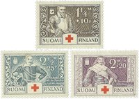 Finlande - LAPE 184-186 - Neuf
