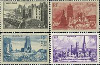 France - Mutual aid YT 744-47