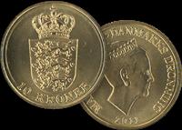 10 kr. mønt 2011